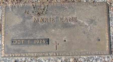 LANE, MARIE - Yankton County, South Dakota | MARIE LANE - South Dakota Gravestone Photos