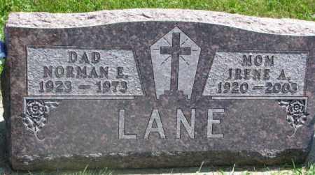 LANE, NORMAN E. - Yankton County, South Dakota | NORMAN E. LANE - South Dakota Gravestone Photos