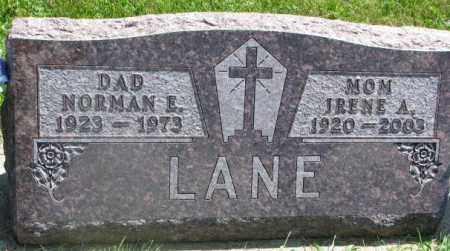 LANE, IRENE A. - Yankton County, South Dakota | IRENE A. LANE - South Dakota Gravestone Photos