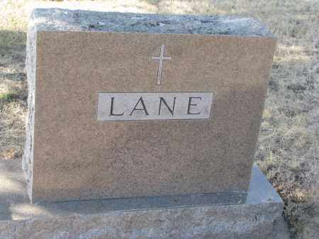 LANE, PLOT STONE - Yankton County, South Dakota | PLOT STONE LANE - South Dakota Gravestone Photos
