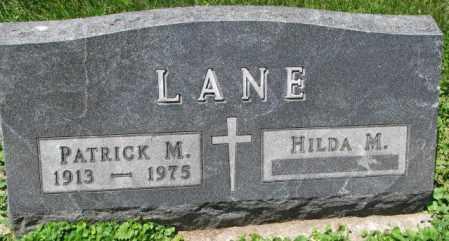 LANE, HILDA M. - Yankton County, South Dakota | HILDA M. LANE - South Dakota Gravestone Photos