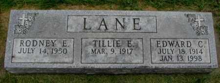 LANE, TILLIE E. - Yankton County, South Dakota | TILLIE E. LANE - South Dakota Gravestone Photos