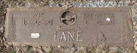 LANE, BERNETTA - Yankton County, South Dakota | BERNETTA LANE - South Dakota Gravestone Photos