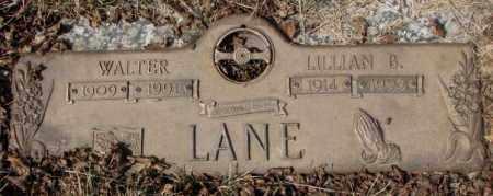 LANE, LILLIAN B. - Yankton County, South Dakota | LILLIAN B. LANE - South Dakota Gravestone Photos