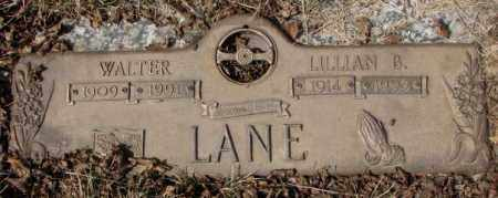 LANE, LILLIAN B. - Yankton County, South Dakota | LILLIAN B. LANE - South Dakota Gravestone Photos