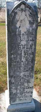 LARSEN, CARL J. - Yankton County, South Dakota | CARL J. LARSEN - South Dakota Gravestone Photos
