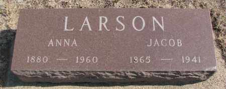LARSON, ANNA - Yankton County, South Dakota   ANNA LARSON - South Dakota Gravestone Photos