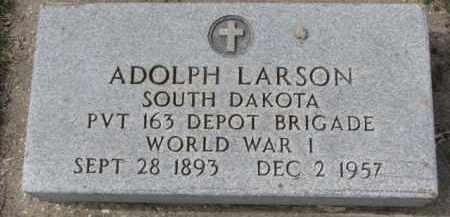 LARSON, ADOLPH - Yankton County, South Dakota | ADOLPH LARSON - South Dakota Gravestone Photos