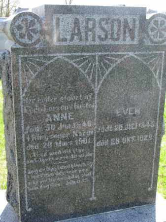 LARSON, EVEN - Yankton County, South Dakota | EVEN LARSON - South Dakota Gravestone Photos