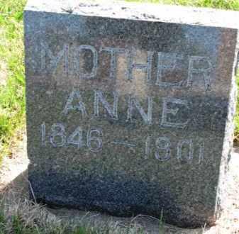 LARSON, ANNE - Yankton County, South Dakota | ANNE LARSON - South Dakota Gravestone Photos