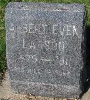 LARSON, ALBERT EVEN - Yankton County, South Dakota   ALBERT EVEN LARSON - South Dakota Gravestone Photos