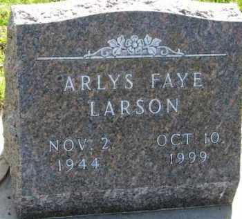 LARSON, ARLYS FAYE - Yankton County, South Dakota | ARLYS FAYE LARSON - South Dakota Gravestone Photos