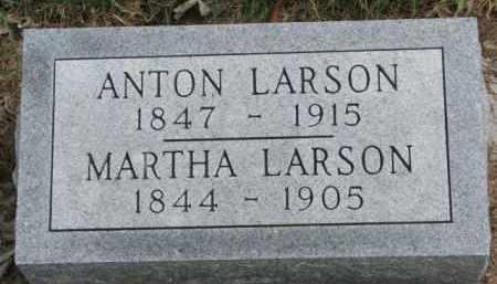 LARSON, ANTON - Yankton County, South Dakota | ANTON LARSON - South Dakota Gravestone Photos