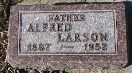 LARSON, ALFRED - Yankton County, South Dakota | ALFRED LARSON - South Dakota Gravestone Photos