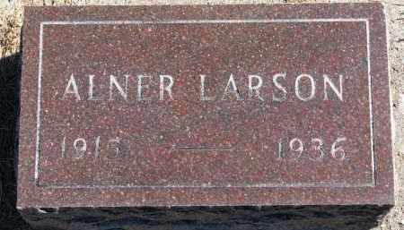 LARSON, ALNER - Yankton County, South Dakota | ALNER LARSON - South Dakota Gravestone Photos