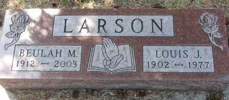 LARSON, LOUIS J. - Yankton County, South Dakota | LOUIS J. LARSON - South Dakota Gravestone Photos