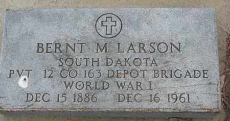 LARSON, BERNT M. - Yankton County, South Dakota | BERNT M. LARSON - South Dakota Gravestone Photos