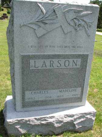 LARSON, MADELINE - Yankton County, South Dakota | MADELINE LARSON - South Dakota Gravestone Photos