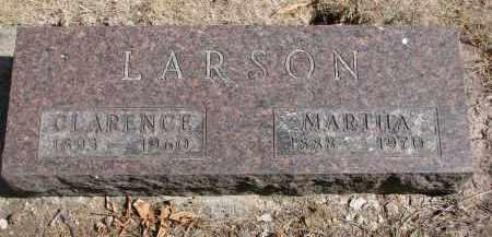 LARSON, MARTHA - Yankton County, South Dakota | MARTHA LARSON - South Dakota Gravestone Photos