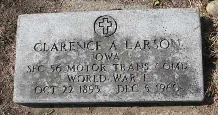 LARSON, CLARENCE (WW I) - Yankton County, South Dakota | CLARENCE (WW I) LARSON - South Dakota Gravestone Photos