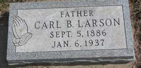 LARSON, CARL B. - Yankton County, South Dakota | CARL B. LARSON - South Dakota Gravestone Photos
