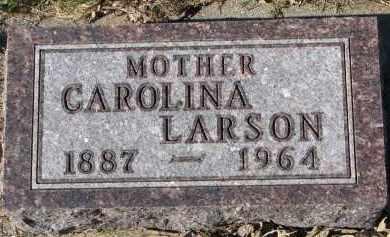 LARSON, CAROLINA - Yankton County, South Dakota | CAROLINA LARSON - South Dakota Gravestone Photos
