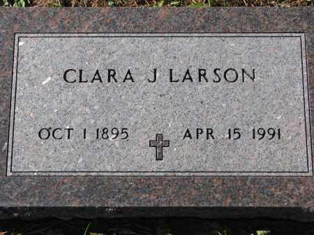 LARSON, CLARA J. - Yankton County, South Dakota | CLARA J. LARSON - South Dakota Gravestone Photos