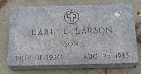 LARSON, EARL L. - Yankton County, South Dakota | EARL L. LARSON - South Dakota Gravestone Photos