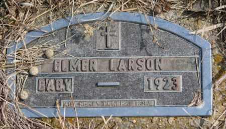 LARSON, ELMER - Yankton County, South Dakota   ELMER LARSON - South Dakota Gravestone Photos
