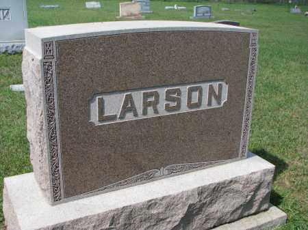 LARSON, FAMILY STONE - Yankton County, South Dakota | FAMILY STONE LARSON - South Dakota Gravestone Photos