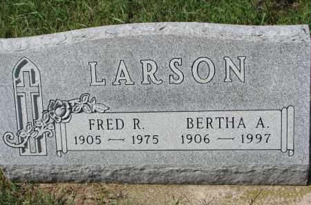 LARSON, BERTHA A. - Yankton County, South Dakota | BERTHA A. LARSON - South Dakota Gravestone Photos