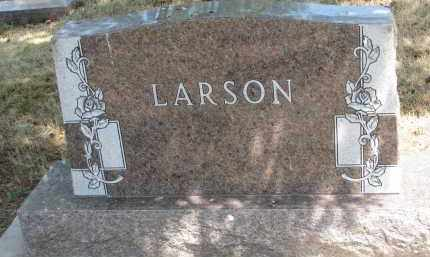 LARSON, FAMILY STONE - Yankton County, South Dakota | FAMILY STONE LARSON - South Dakota Gravestone Photos