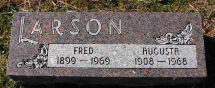 LARSON, FRED - Yankton County, South Dakota | FRED LARSON - South Dakota Gravestone Photos