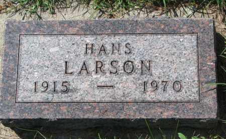 LARSON, HANS - Yankton County, South Dakota   HANS LARSON - South Dakota Gravestone Photos