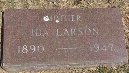 LARSON, IDA - Yankton County, South Dakota   IDA LARSON - South Dakota Gravestone Photos