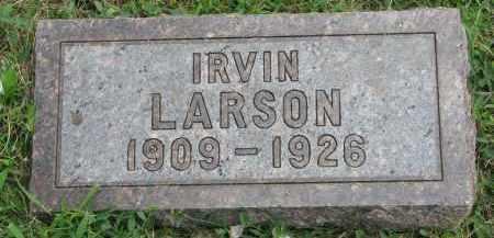 LARSON, IRVIN - Yankton County, South Dakota | IRVIN LARSON - South Dakota Gravestone Photos