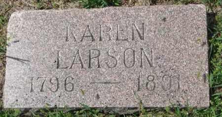 LARSON, KAREN - Yankton County, South Dakota | KAREN LARSON - South Dakota Gravestone Photos
