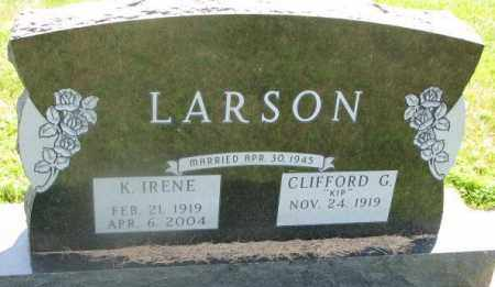 LARSON, K. IRENE - Yankton County, South Dakota | K. IRENE LARSON - South Dakota Gravestone Photos