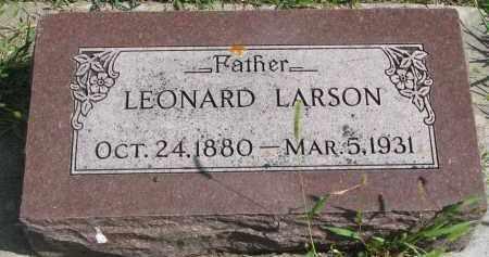 LARSON, LEONARD - Yankton County, South Dakota | LEONARD LARSON - South Dakota Gravestone Photos