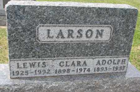 LARSON, CLARA - Yankton County, South Dakota | CLARA LARSON - South Dakota Gravestone Photos