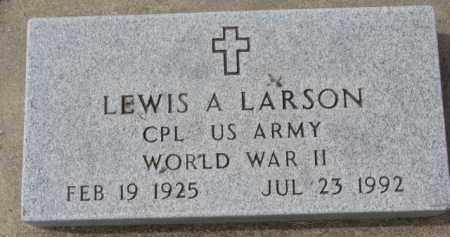 LARSON, LEWIS A. - Yankton County, South Dakota   LEWIS A. LARSON - South Dakota Gravestone Photos