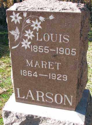LARSON, MARET - Yankton County, South Dakota | MARET LARSON - South Dakota Gravestone Photos