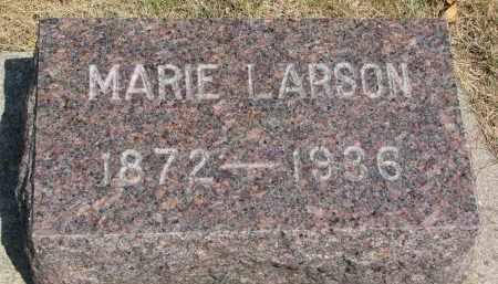 LARSON, MARIE - Yankton County, South Dakota | MARIE LARSON - South Dakota Gravestone Photos