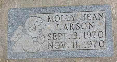 LARSON, MOLLY JEAN - Yankton County, South Dakota | MOLLY JEAN LARSON - South Dakota Gravestone Photos