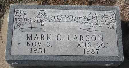 LARSON, MARK C. - Yankton County, South Dakota | MARK C. LARSON - South Dakota Gravestone Photos