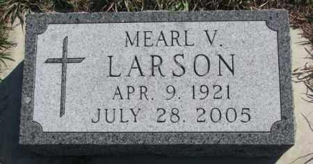LARSON, MEARL V. - Yankton County, South Dakota | MEARL V. LARSON - South Dakota Gravestone Photos