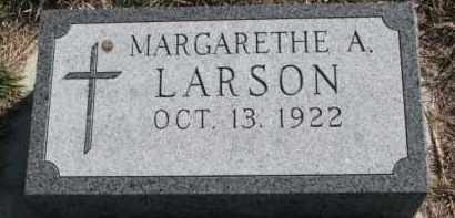 LARSON, MARGARETHE A. - Yankton County, South Dakota | MARGARETHE A. LARSON - South Dakota Gravestone Photos