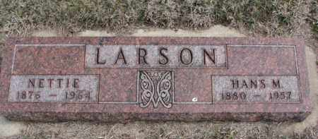 LARSON, NETTIE - Yankton County, South Dakota | NETTIE LARSON - South Dakota Gravestone Photos