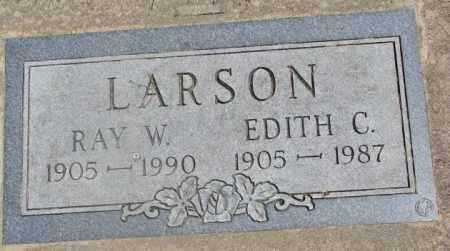 LARSON, RAY W. - Yankton County, South Dakota | RAY W. LARSON - South Dakota Gravestone Photos