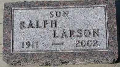 LARSON, RALPH - Yankton County, South Dakota | RALPH LARSON - South Dakota Gravestone Photos